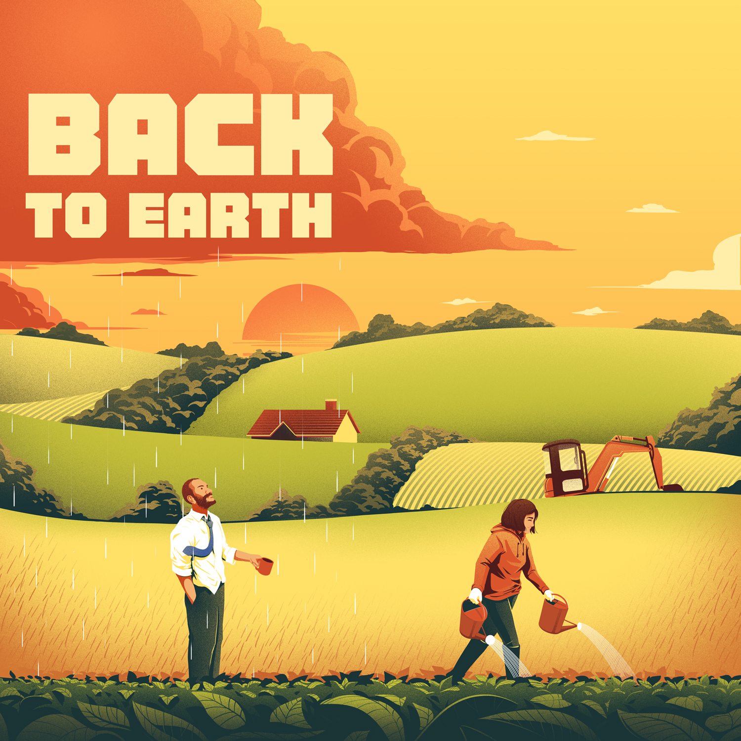 Back to Earth cover
